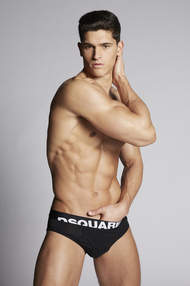 DSQUARED2 Logo Briefs 内裤 男士