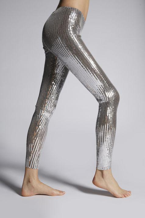 DSQUARED2 Sequins Legging woman