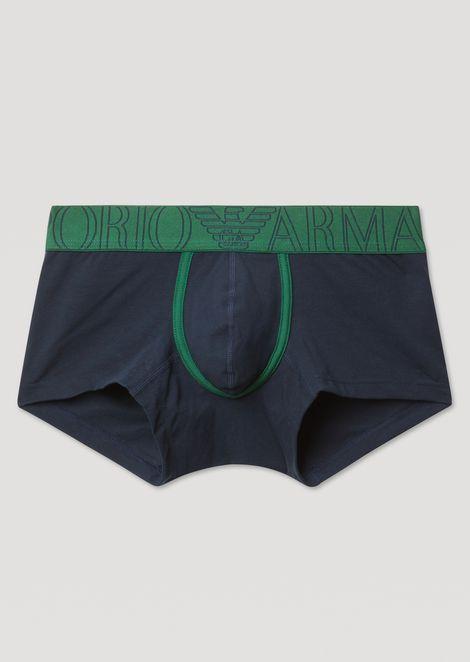 47170d7ece9a Boxershorts aus Stretch-Baumwolle mit Logo von Emporio Armani am  elastischen Bund