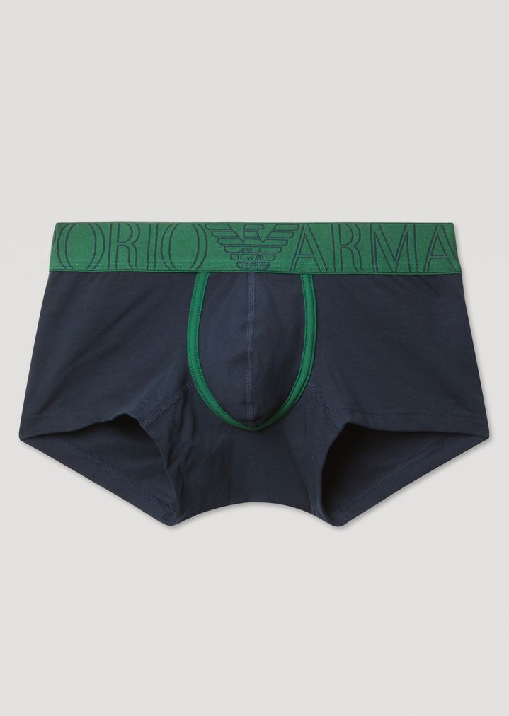 Stretch cotton boxer briefs with Emporio Armani logo elastic   Man   Emporio  Armani 1766731b58d