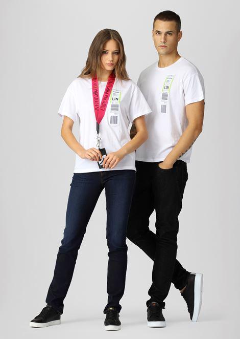 Emporio Armani Boarding capsule collection T-shirt