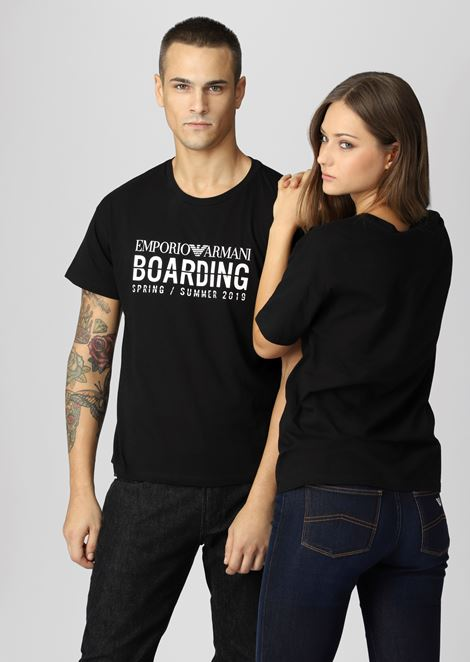 Emporio Armani Boarding capsule collection T-shirt