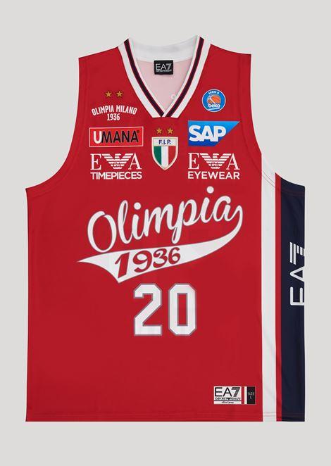 Andrea Cinciarini 20 commemorative championship jersey