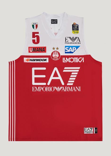 Vladimir Micov 5 commemorative championship jersey