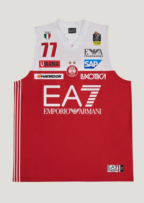 Arturas Gudaitis 77 commemorative championship jersey