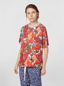 Marni Viscose twill shirt with Duncraig print Woman