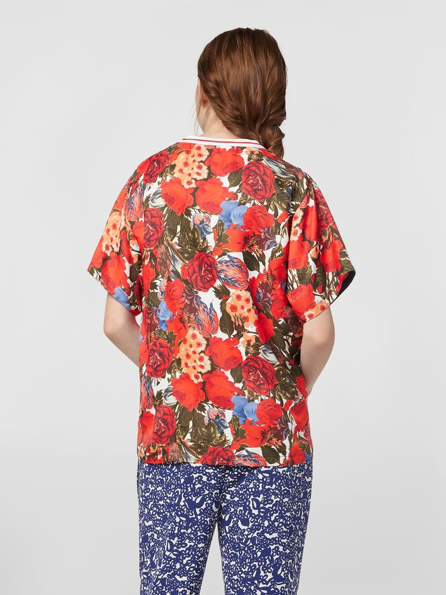 Marni Viscose twill shirt with Duncraig print Woman