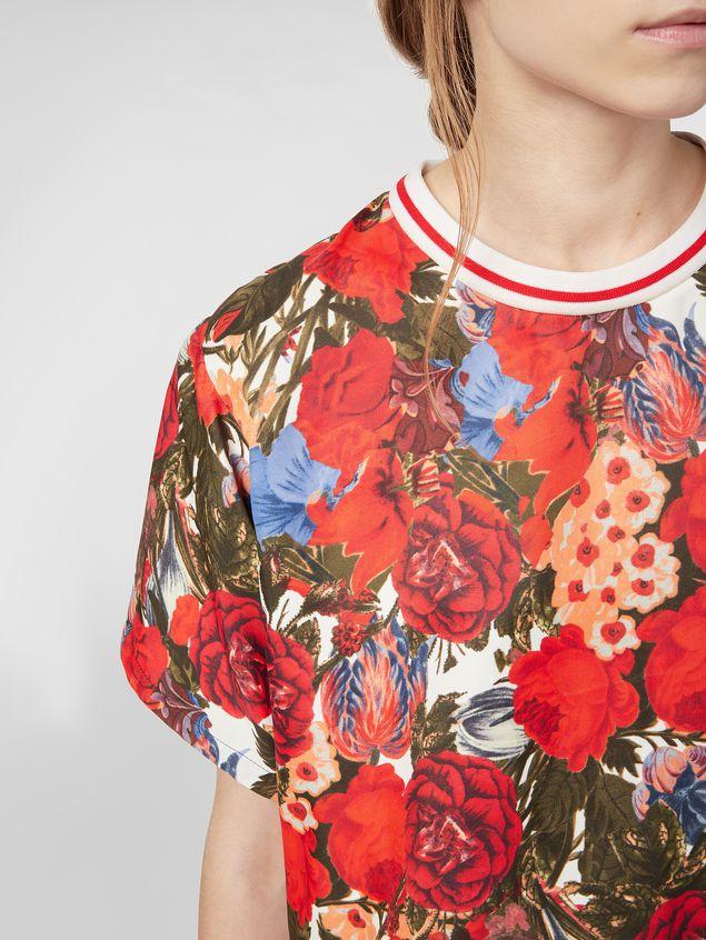 Marni Viscose twill shirt with Duncraig print Woman - 4