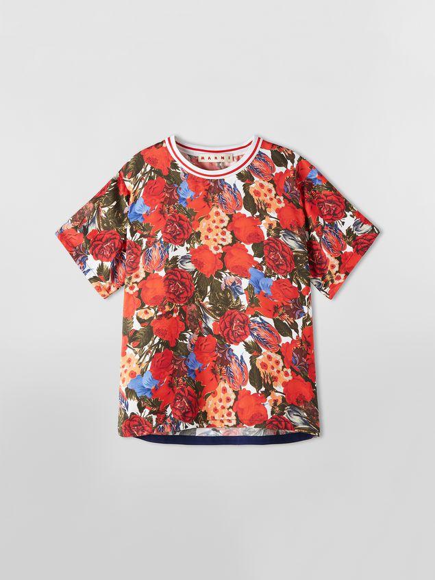 Marni Viscose twill shirt with Duncraig print Woman - 2