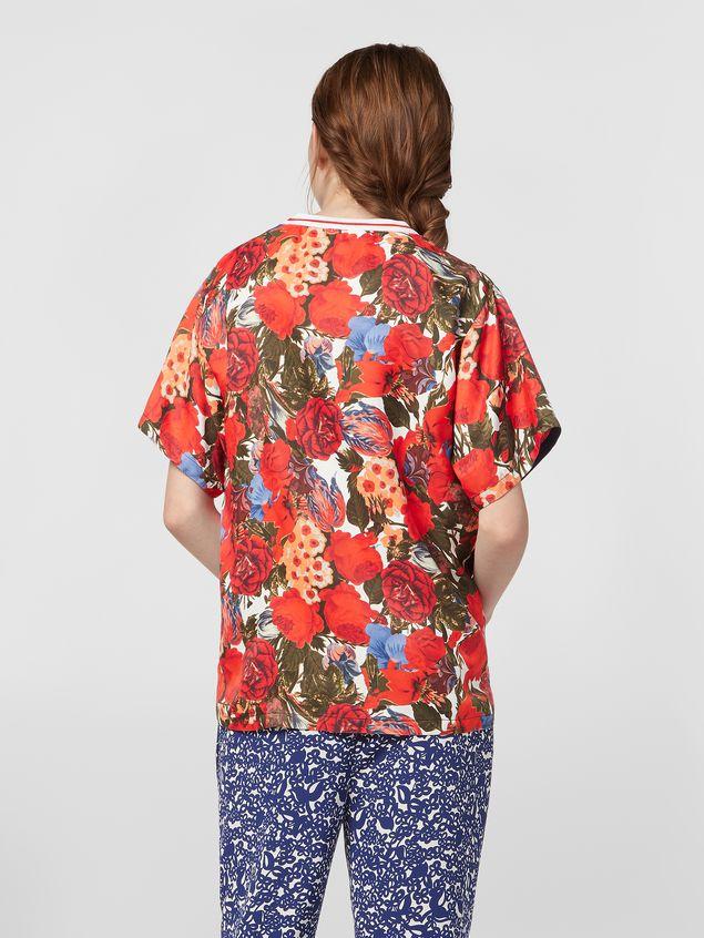 Marni Viscose twill shirt with Duncraig print Woman - 3