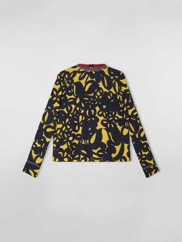 Marni Sablé viscose shirt with Danna print Woman - 2