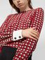 Marni Silk crepe shirt with Shell print Woman - 4