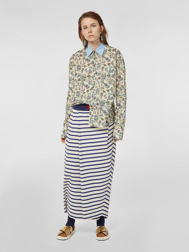 Marni Shirt in cotton voile with Maisie print Woman - 5