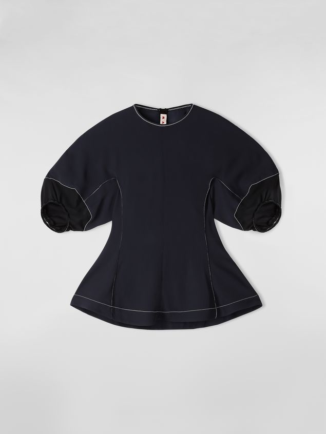 f96a77eb457 Blouse In Crepe Envers Satin from the Marni Spring/Summer 2019 ...