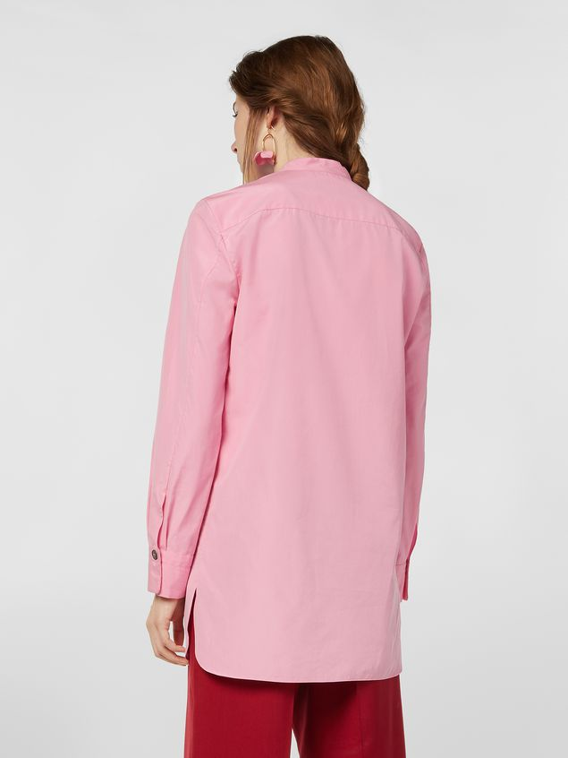 Marni Nehru-neck shirt in poplin  Woman - 3