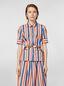 Marni Shirt in faded striped poplin Woman - 1