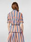 Marni Shirt in faded striped poplin Woman - 3