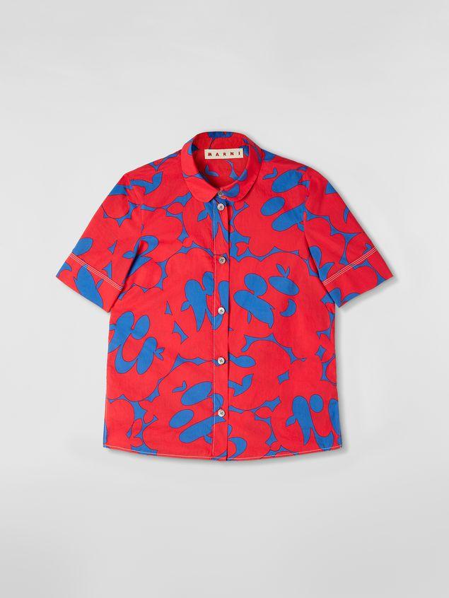 Marni Poplin shirt with Belou print Woman - 2