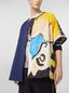 Marni Patchwork shirt in techno cotton with print by artist Betsy Podlach Man - 5