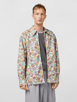 Marni Shirt in cotton poplin Clarabella print Man