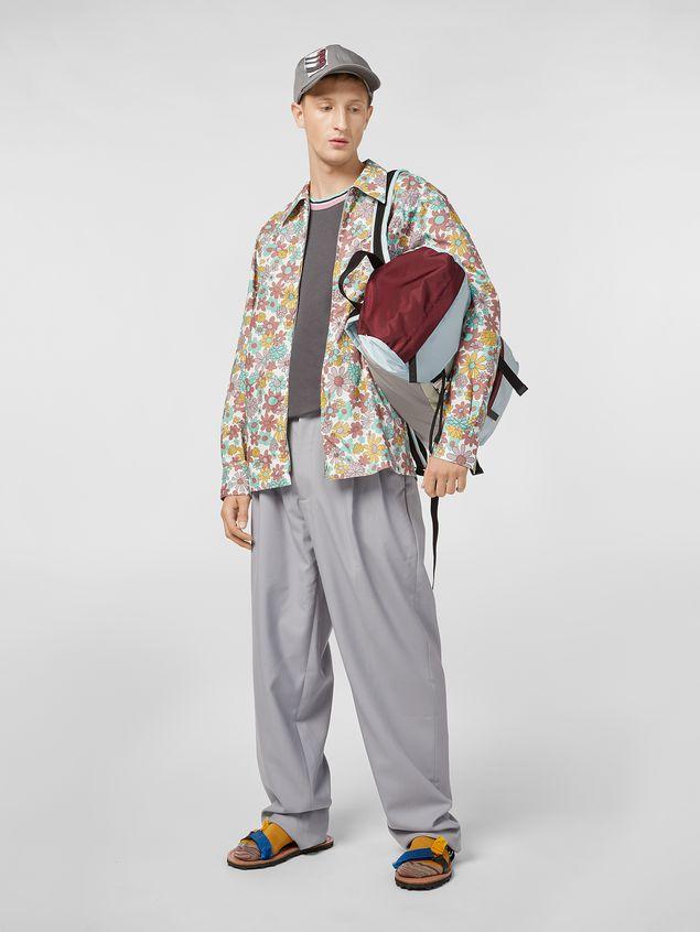 Marni Shirt in cotton poplin Clarabella print Man - 5