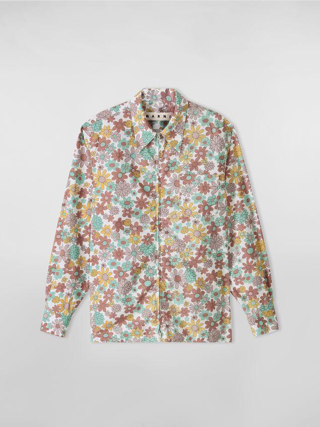 Marni Shirt in cotton poplin Clarabella print Man - 2