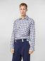Marni Shirt in yarn-dyed double plaid cotton voile Man - 1