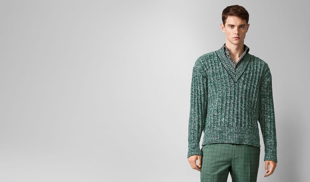 pullover in wool  landing