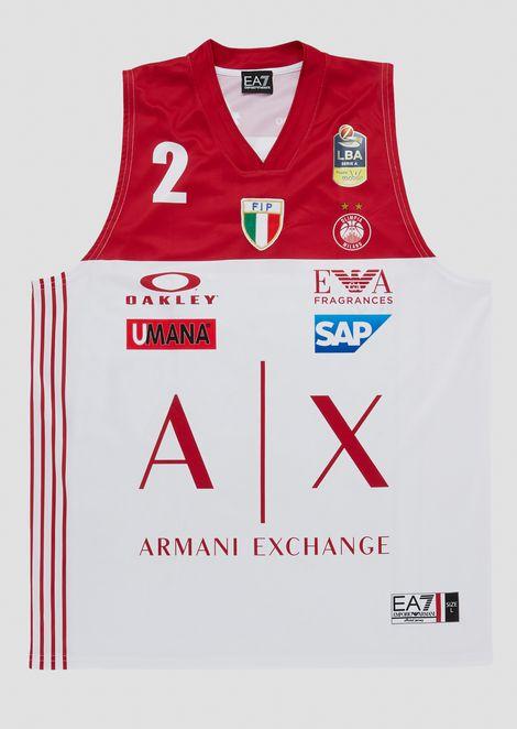 Camiseta liga italiana nacional blanca 18/19 James