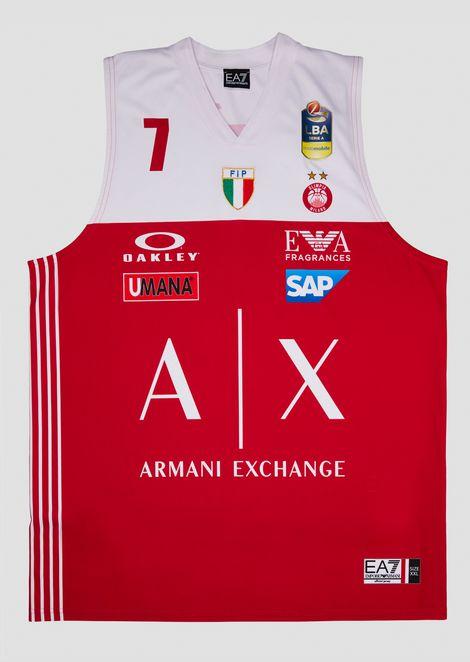 Camiseta liga italiana roja 18/19 Gudaitis