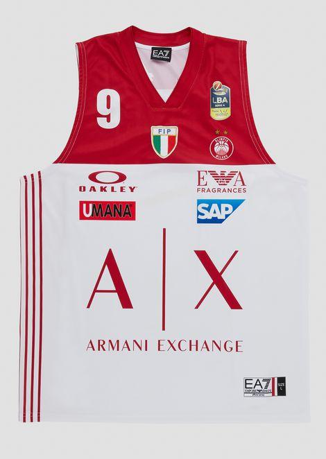 Camiseta liga italiana blanca 18/19 Bertans