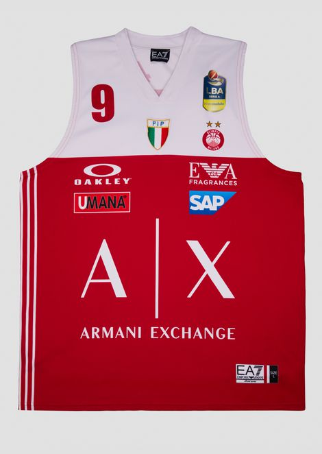 Bertans 18/19 Championship red jersey