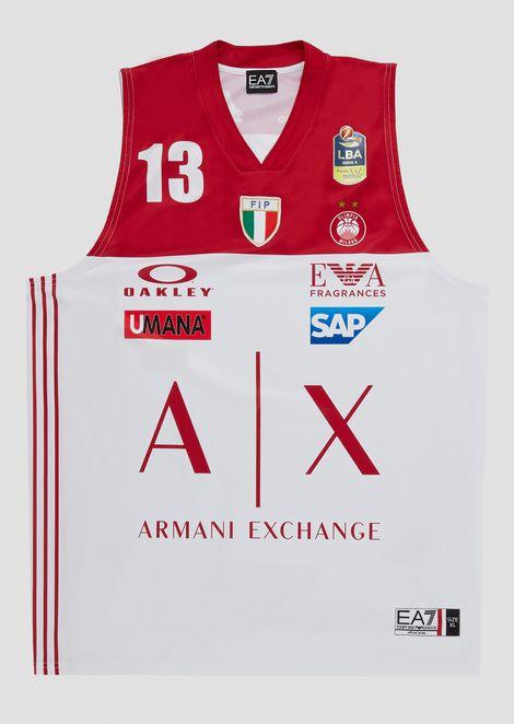 Camiseta liga italiana blanca 18/19 Fontecchio