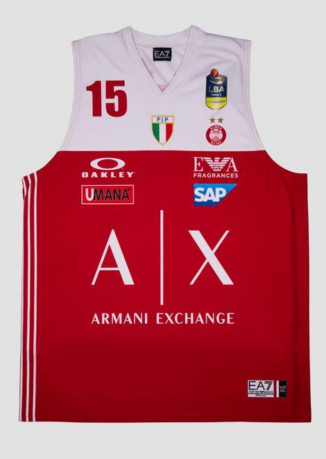 Camiseta liga italiana roja 18/19 Tarczewski