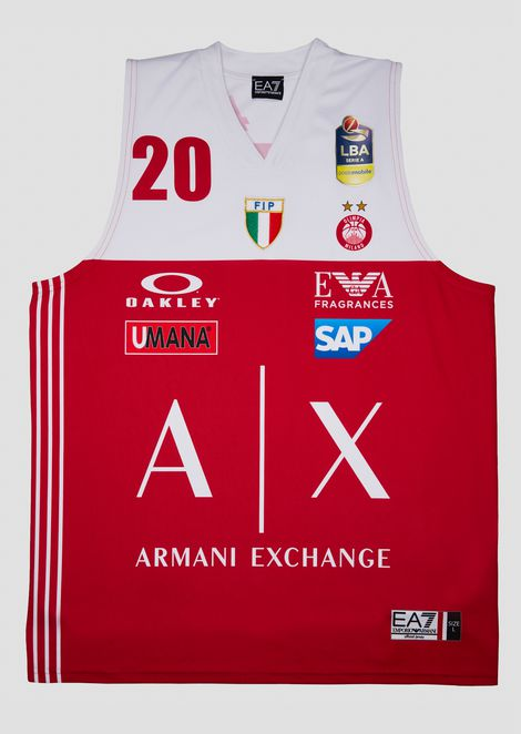 Cinciarini 18/19 Championship red jersey