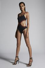 DSQUARED2 Dsquared2 Tape Trikini Costume Woman