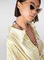 Marni Frayed shirt in rayon satin Cerere print Woman - 4