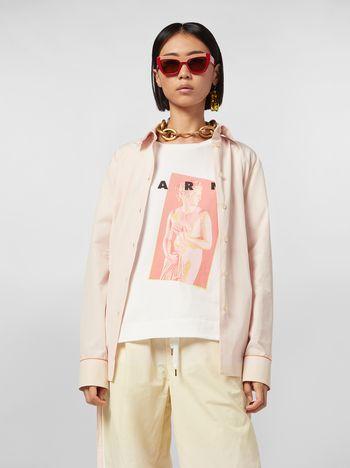 Marni Camicia in popeline di cotone Donna