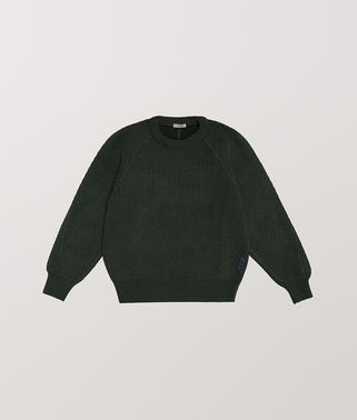 PULLOVER IN TECHNO WOOL