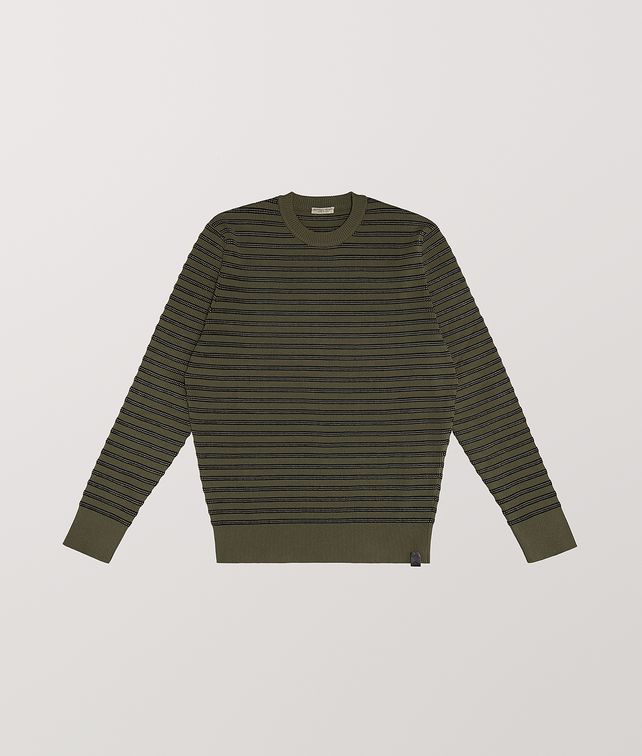BOTTEGA VENETA SWEATER IN COTTON Knitwear [*** pickupInStoreShippingNotGuaranteed_info ***] fp