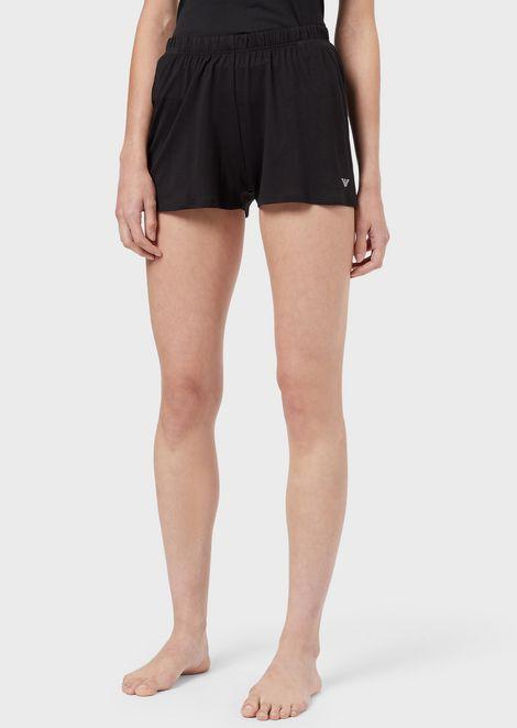 EMPORIO ARMANI Lounge Shorts Woman f