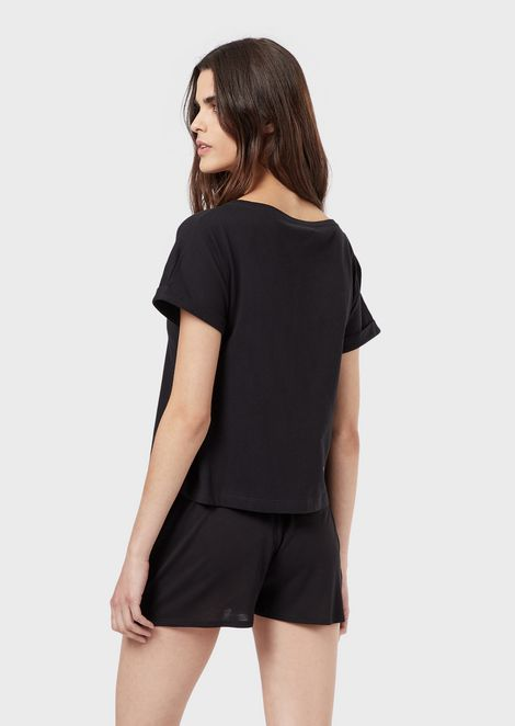 EMPORIO ARMANI Lounge T-Shirt Woman r