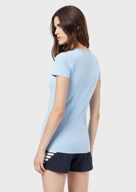 EMPORIO ARMANI Camiseta para estar en casa Mujer r