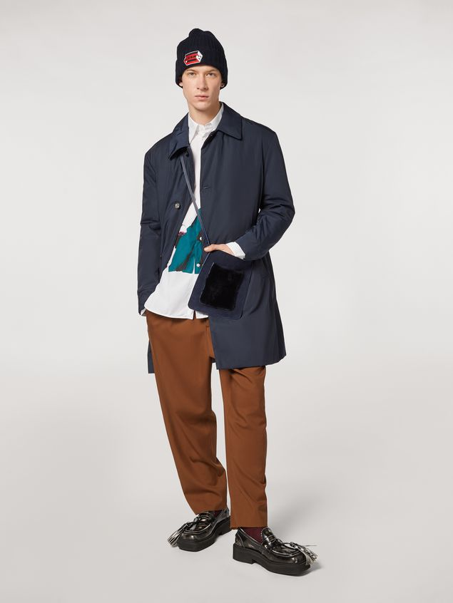 Marni Shirt in twisted cotton poplin with print by Bruno Bozzetto Man - 5