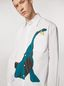 Marni Shirt in twisted cotton poplin with print by Bruno Bozzetto Man - 4