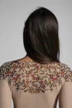 DSQUARED2 Botanic Eden Long Sleeves Body Body Woman