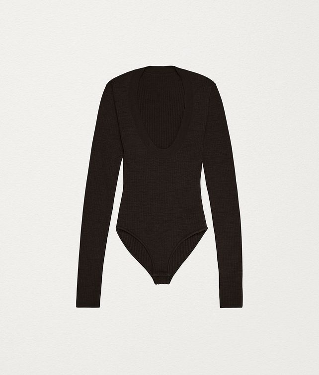 BOTTEGA VENETA BODYSUIT IN STRETCH WOOL Knitwear [*** pickupInStoreShipping_info ***] fp