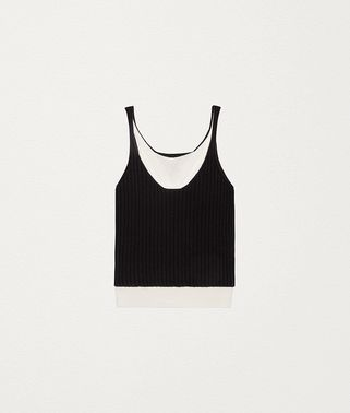 VEST TOP IN CASHMERE AND SILK