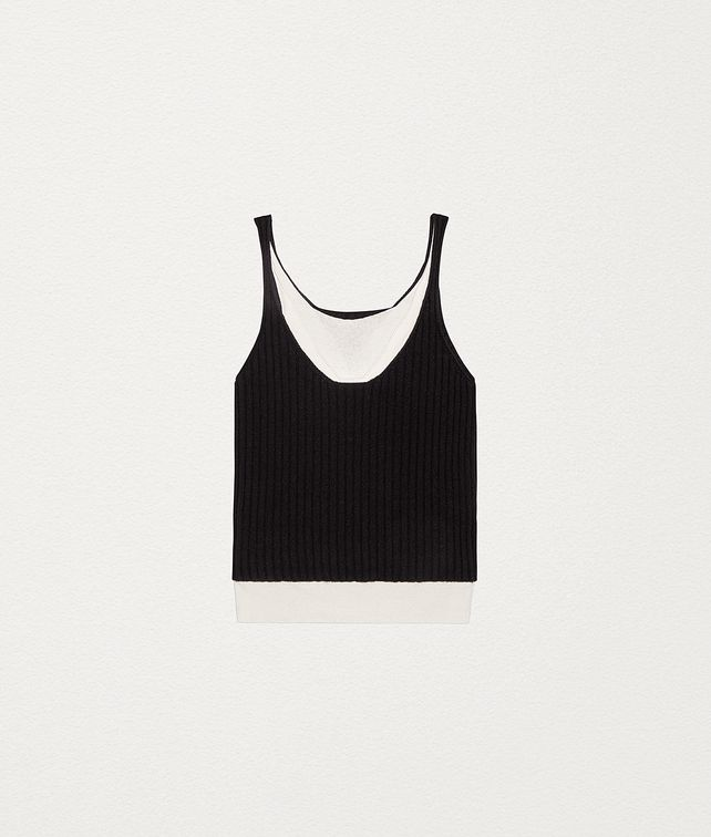 BOTTEGA VENETA VEST TOP IN CASHMERE AND SILK Knitwear [*** pickupInStoreShipping_info ***] fp