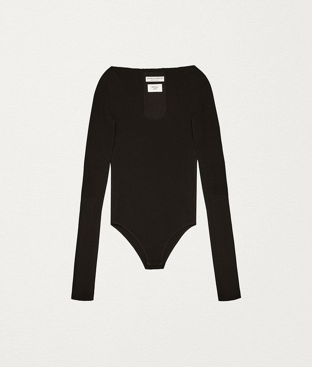 BOTTEGA VENETA BODYSUIT IN VISCOSE Knitwear Woman fp